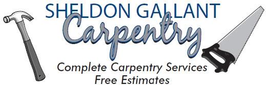 Sheldon Gallant Carpentry card