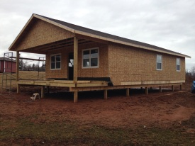 cottage in progress